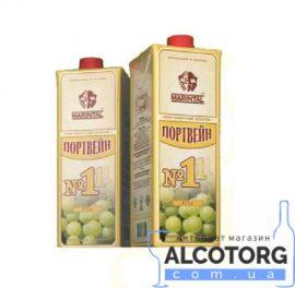 Вино Портвейн 111 біле міцне Марінталь 1 л. Вино Портвейн 111 белое крепленое Маринталь 1 л. alcotorg.com.ua