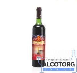 Вино Портвейн Приморський червоне міцне Котовск 0