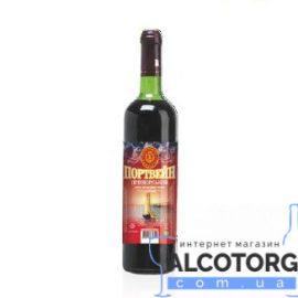 Вино Портвейн Приморський червоне міцне Котовськ 0,7 л.