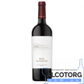 Вино Пуркарь Рошу де Пуркарь червоне сухе, Purcari Rosu de Purcari 0,75 л.