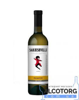 Вино Ркацетелі Сахішвілі сухе біле