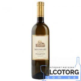 Вино Ркацителі Меомарі біле сухе, Meomari 0,75 л.