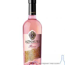 Вино Розе напівсолодке Азнаурі, Aznauri Rose 0,75 Л.