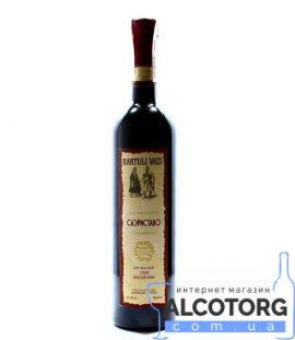 Вино Саеріставо червоне сухе Картулі Вазі