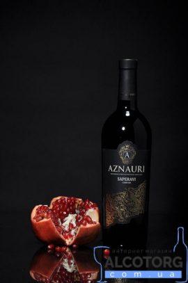 75 л. Вино Саперави Азнаури красное сухое