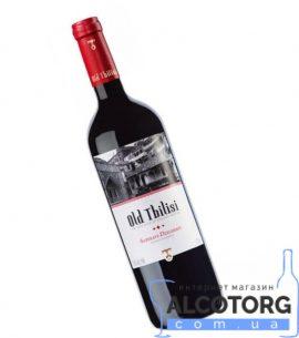 Вино Сапераві Дзелшавії Старий Тбілісі червоне сухе, Old Tbilisi Saperavi Dzelshavi 0,75 л.