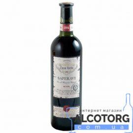 Вино Сапераві Каса Вече червоне сухе, Saperavi Casa Veche 0,75 л.