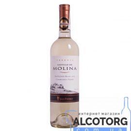 Вино Совіньйон Блан Резерва Кастільо де Моліна витримане біле сухе, Sauvignon Blanc Reserva Castillo de Molina 0,75 л.