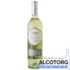 Вино Сенсі Коллецьоне Шардонне біле сухе