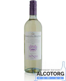 Вино Сенсі Соро Бьянко біле сухе, Sensi Soro Bianco Toscana IGT 0,75 л.