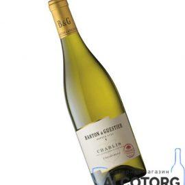 Вино Шаблі Бартон & Гестьє біле сухе, Chablis Barton & Guestier 0,75 л.