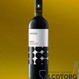 Вино Мерло Сухе Червоне Класіка Шабо 0,75 Л.