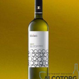 Вино Шардоне Сухе біле Класіка Шабо 0