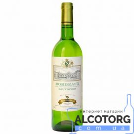 Вино Шанткай Бордо Блан біле сухе