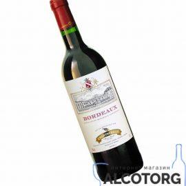 Вино Шантекале Бордо Руж червоне сухе, Chantecaille Bordeaux Rouge GVG 0,75 л.