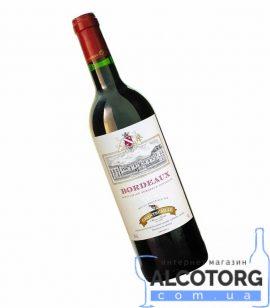 Вино Шанткай Бордо Руж червоне сухе, Chantecaille Bordeaux Rouge 0,75 л.