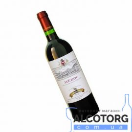Вино Шантекале Медок червоне сухе, Chantecaille Medoc GVG 0,75 л.