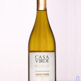 Вино Каса Верде Шардоне Резерв сухе біле, Casa Verde Reserva Chardonnay 0,75 Л.