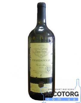 Вино Шардоне Магнум Каса Віче біле сухе