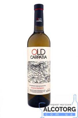Вино Шардоне сухе біле Олд Карпатія