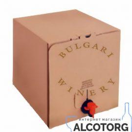 Вино Шардоне сухе біле Булгарі Вайнері, Bulgari Winery 5 л.