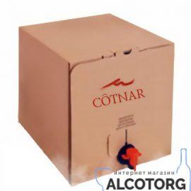 Вино Шато червоне напівсолодке Котнар 10 літрів.