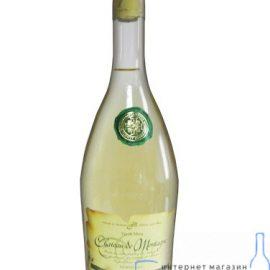 Вино Шато де Монтаг біле напівсолодке, Chateau de Montagne 0,7 л.