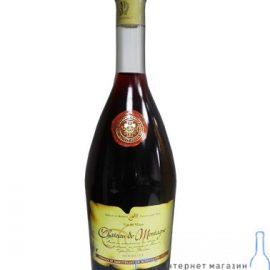 Вино Шато де Монтаг червоне напівсолодке, Chateau de Montagne 0,7 л.