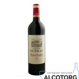 Вино Шато Дюпре Сент Емільйон червоне сухе, Chateau Dupray Saint Emilion AOC 0,75 л.