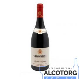 Вино Шемін Де Пап Жигонда червоне сухе, Chemin Des Papes Gigondas 0,75 л.