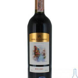 Вино Соло Корсо червоне сухе