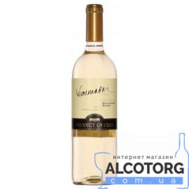 Вино Совіньон Блан біле сухе Вайнмейкер, Winemaker 0,75 л.