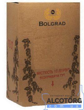 Вино Столове червоне сухе Болград 10 літрів.