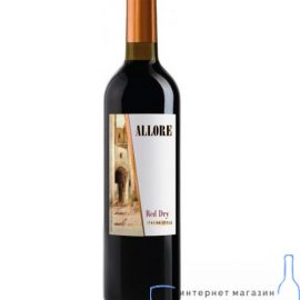 Вино Аллоре сухе червоне