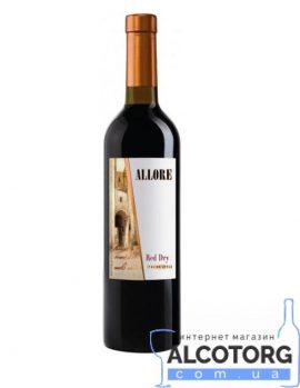 Вино Аллоре напівсолодке червоне