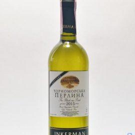 Вино Чорноморська Перлина сухе біле Інкерман 0,75 л.