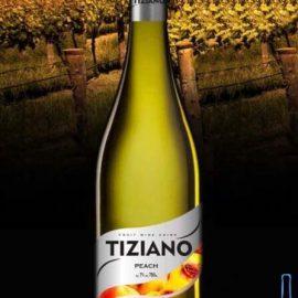 Вино Тіціано Персик Біле Напівсолодке, Tiziano Peach 0,75 Л.