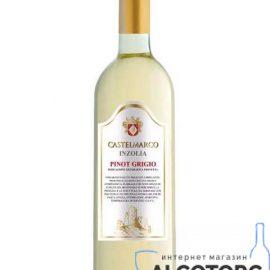 Вино T.Siciliane Igt Inzolia Pinot Grigio Bianco 0,75 л.