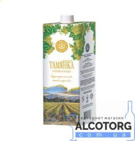 Вино Тамянка біле напівсолодке Марінталь 1 л.