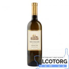 Вино Тбілісурі Меомарі біле напівсухе, Meomari 0,75 л.