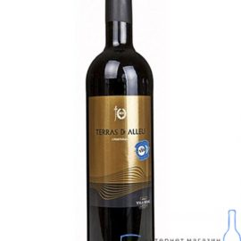 Вино Терра де Аллеу червоне напівсухе, Terras de Alleu 0,75 л.