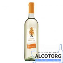 Вино Терра Фреска Бьянко біле напівсолодке, Terra Fresca Bianco 0,75 л.