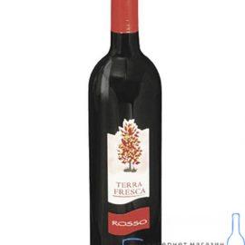 Вино Терра Фреска Россо червоне напівсолодке, Terra Fresca Rosso Amabile 0,75 л.