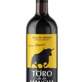 Вино Торо де Ла Манча біле напівсолодке, Toro de La Mancha 0,75 л.