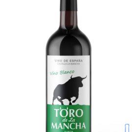 Вино Торо де Ла Манча біле сухе, Toro de La Mancha 0,75 л.