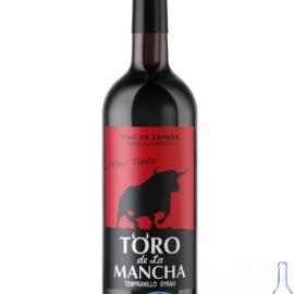 Вино Торо де Ла Манча червоне напівсолодке, Toro de La Mancha 0,75 л.