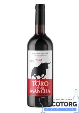 Вино Торо де Ла Манча червоне сухе