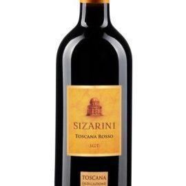 Вино Тоскана Россо Зіцаріні червоне сухе, Toscana Rosso Sizarini 0,75 л.