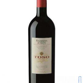 Вино Тосо Барбера д'Асті DOCG сухе червоне, Toso Barbera d'Asti DOCG 0,75 л.