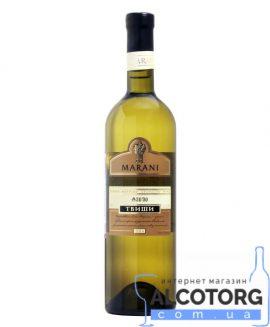 Вино Твіши Марані біле напівсолодке, Marani 0,75 л.